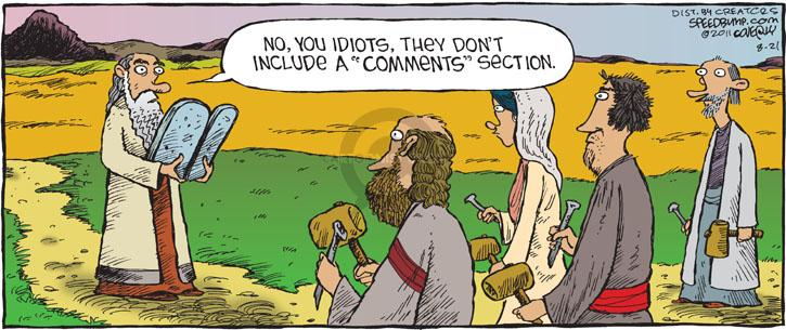 Comic Strip Dave Coverly  Speed Bump 2011-08-21 online
