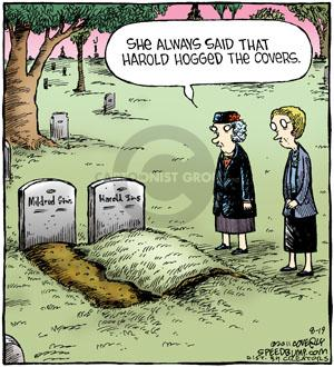 Comic Strip Dave Coverly  Speed Bump 2011-08-19 grave