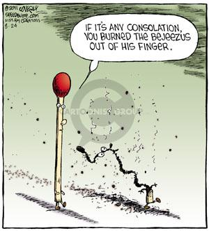 Comic Strip Dave Coverly  Speed Bump 2011-08-24 sympathy