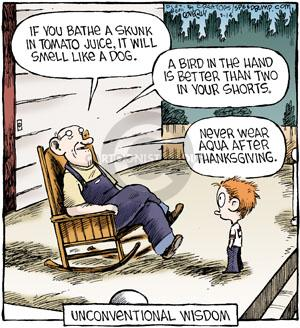 Comic Strip Dave Coverly  Speed Bump 2011-09-14 Thanksgiving family
