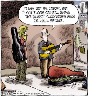 Cartoonist Dave Coverly  Speed Bump 2011-09-15 tune song