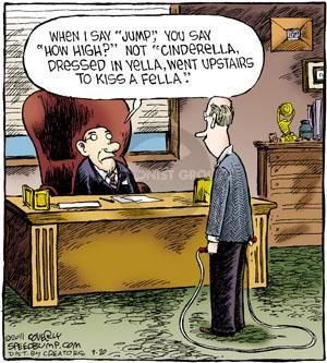 Comic Strip Dave Coverly  Speed Bump 2011-09-20 employee employer