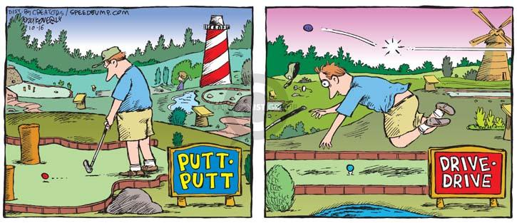 Comic Strip Dave Coverly  Speed Bump 2011-10-16 course