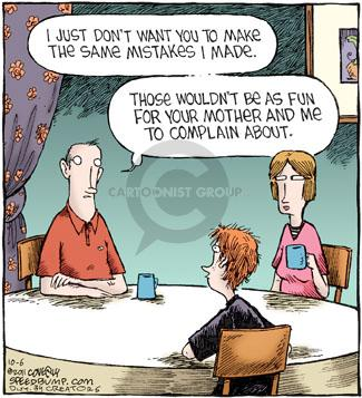 Comic Strip Dave Coverly  Speed Bump 2011-10-06 complain