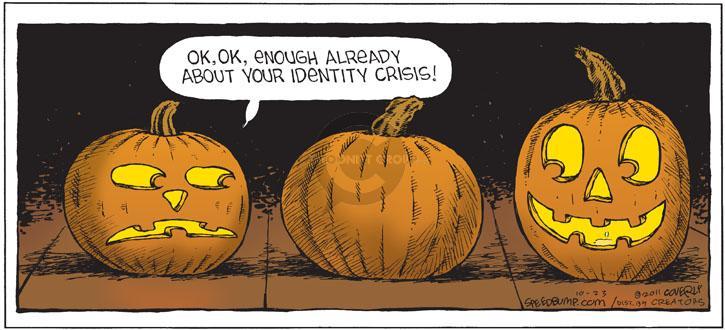 Comic Strip Dave Coverly  Speed Bump 2011-10-23 identity