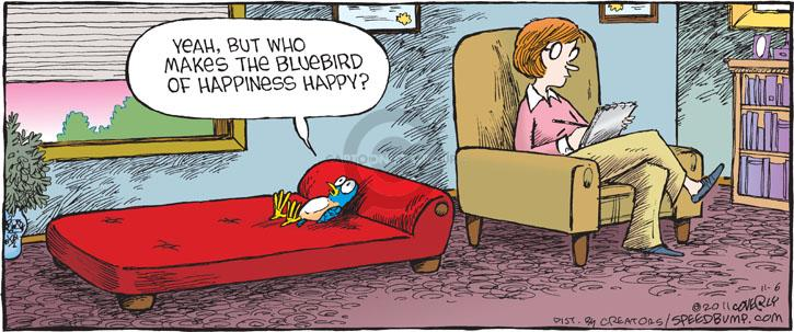 Comic Strip Dave Coverly  Speed Bump 2011-11-06 emotion