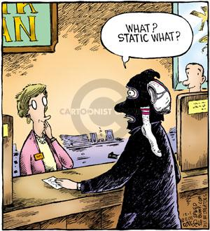 Comic Strip Dave Coverly  Speed Bump 2011-12-01 bank robber