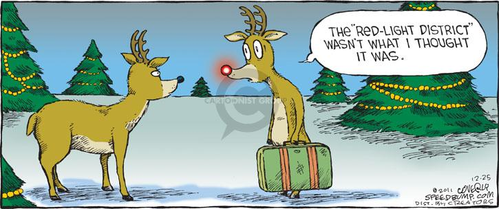 Comic Strip Dave Coverly  Speed Bump 2011-12-25 reindeer