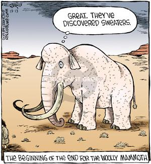 Comic Strip Dave Coverly  Speed Bump 2011-12-13 animal