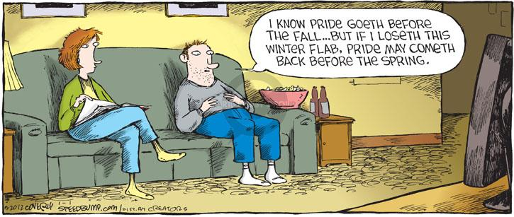 Comic Strip Dave Coverly  Speed Bump 2012-01-01 lose