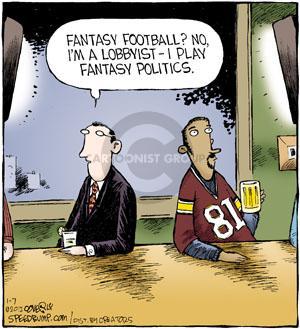 Comic Strip Dave Coverly  Speed Bump 2012-01-07 fantasy football