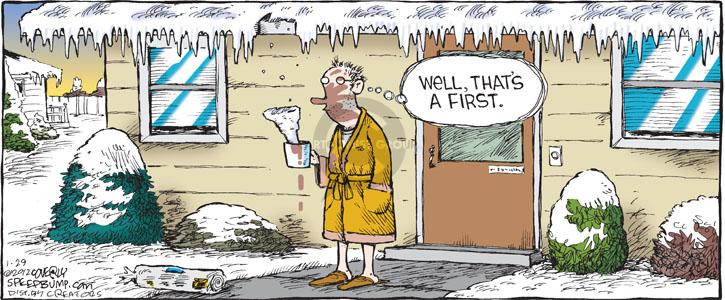 Comic Strip Dave Coverly  Speed Bump 2012-01-29 cold