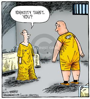 Comic Strip Dave Coverly  Speed Bump 2012-01-19 cellmate