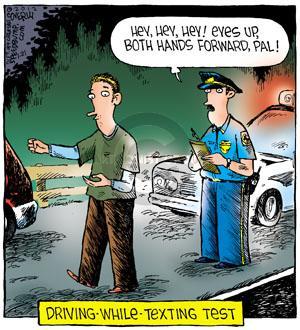 Cartoonist Dave Coverly  Speed Bump 2012-01-21 forward