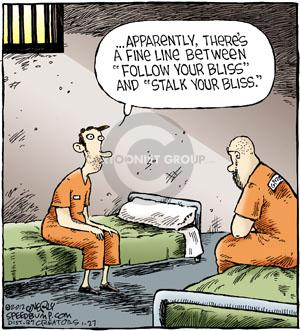 Comic Strip Dave Coverly  Speed Bump 2012-01-27 justice