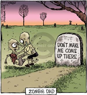 Comic Strip Dave Coverly  Speed Bump 2012-02-03 tombstone