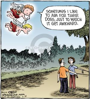 Cartoonist Dave Coverly  Speed Bump 2012-02-14 aim