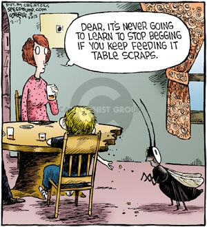 Comic Strip Dave Coverly  Speed Bump 2012-02-17 conditioned response
