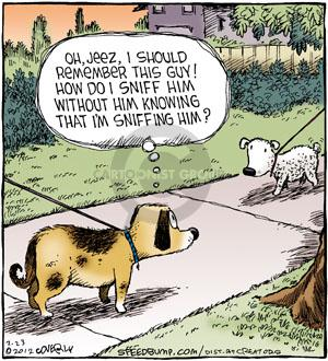 Comic Strip Dave Coverly  Speed Bump 2012-02-23 sniff