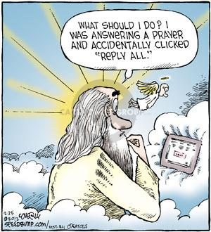 Comic Strip Dave Coverly  Speed Bump 2012-02-25 religion