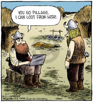 Cartoonist Dave Coverly  Speed Bump 2012-03-07 laptop