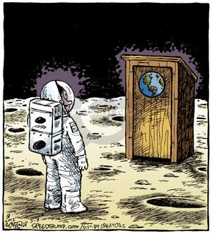 Comic Strip Dave Coverly  Speed Bump 2012-03-09 astronaut