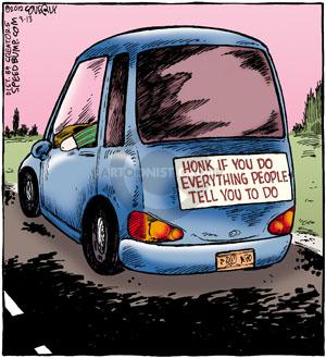 Comic Strip Dave Coverly  Speed Bump 2012-03-13 compliance