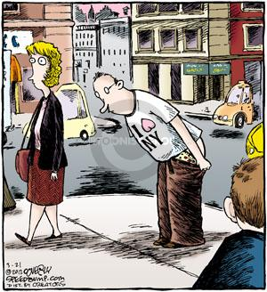 Comic Strip Dave Coverly  Speed Bump 2012-03-21 bare
