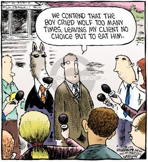 Comic Strip Dave Coverly  Speed Bump 2012-04-07 fable
