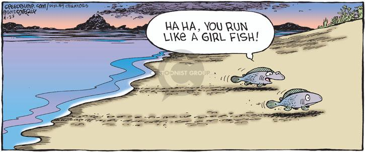 Comic Strip Dave Coverly  Speed Bump 2012-04-22 gender