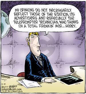 Comic Strip Dave Coverly  Speed Bump 2012-04-21 script