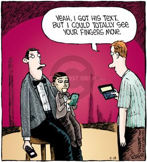 Comic Strip Dave Coverly  Speed Bump 2012-05-14 text message