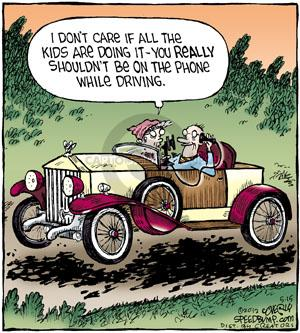 Comic Strip Dave Coverly  Speed Bump 2012-05-15 mobile