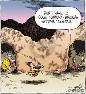 Comic Strip Dave Coverly  Speed Bump 2012-05-19 cave