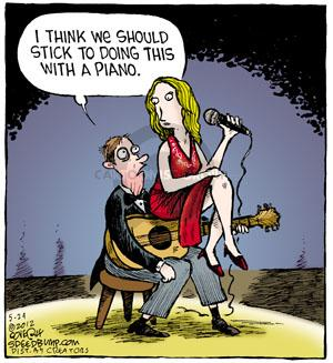 Comic Strip Dave Coverly  Speed Bump 2012-05-24 performance
