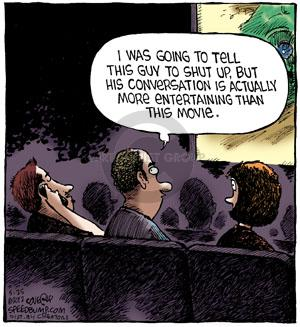 Comic Strip Dave Coverly  Speed Bump 2012-05-25 theater