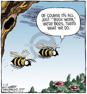 Comic Strip Dave Coverly  Speed Bump 2012-05-26 bee