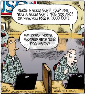 Comic Strip Dave Coverly  Speed Bump 2012-05-28 online communication