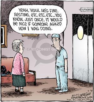 Comic Strip Dave Coverly  Speed Bump 2012-05-30 nice