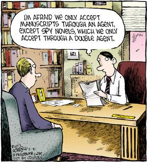 Cartoonist Dave Coverly  Speed Bump 2012-05-31 manuscript