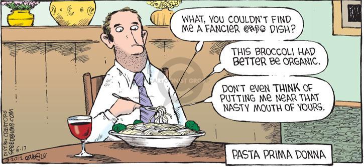Comic Strip Dave Coverly  Speed Bump 2012-06-17 Vera