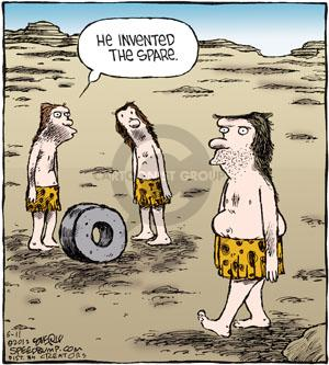 Cartoonist Dave Coverly  Speed Bump 2012-06-11 invention
