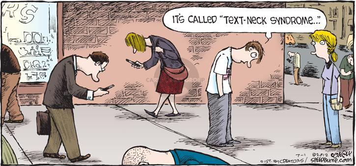 Comic Strip Dave Coverly  Speed Bump 2012-07-01 text message