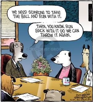 Cartoonist Dave Coverly  Speed Bump 2012-06-25 business