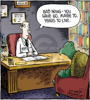Cartoonist Dave Coverly  Speed Bump 2012-06-29 news