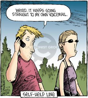 Comic Strip Dave Coverly  Speed Bump 2012-07-23 voicemail