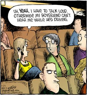 Comic Strip Dave Coverly  Speed Bump 2012-07-27 theater