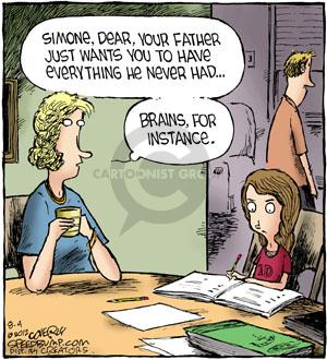 Comic Strip Dave Coverly  Speed Bump 2012-08-04 education