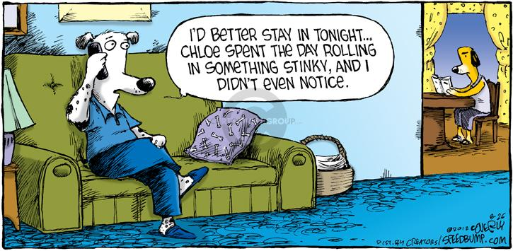 Comic Strip Dave Coverly  Speed Bump 2012-08-26 instinct