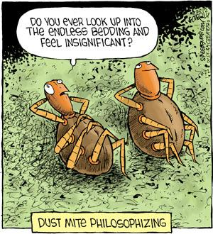 Comic Strip Dave Coverly  Speed Bump 2012-08-22 dust mite